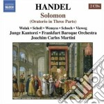 Solomon hwv 67 cd musicale di Handel georg friedri