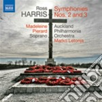 Harris Ross - Sinfonia N.2, N.3 cd musicale di Ross Harris