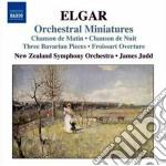 Orchestral miniatures cd musicale di Edward Elgar