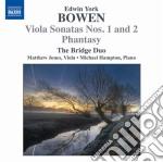Sonata per viola n.1 op.18, n.2 op.22, p cd musicale di Bowen edwin york