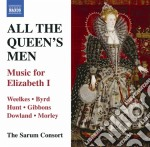 All the queen's men - music for elizabet cd musicale di Miscellanee