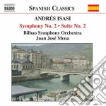 Symphony no.2.. cd musicale di Andres Isasi