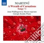 Lieder (integrale), vol.1 cd musicale di Bohuslav Martinu