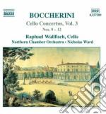 Cello concertos vol.3 cd musicale di BOCCHERINI