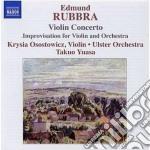 Concerto per violino op.103, improvvisaz cd musicale di Edmund Rubbra