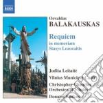 Balakauskas Osvaldus - Requiem In Memoriam Stasys Lozoraitis cd musicale di Osvaldus Balakauskas