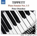 Sonata per pianoforte n.1, n.2, n.3 cd musicale di Michael Tippett