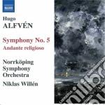 Sinfonia n.5, andante religioso cd musicale di Hugo AlfvÉn