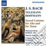 Cantata bwv 35, bwv 55, bwv 160, bwv 189 cd musicale di Johann Sebastian Bach