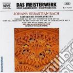 Cantate per contralto vol.1: bwv 53, 54, cd musicale di Johann Sebastian Bach