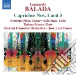 Caprichos n.1, n.5; a little night music cd musicale di Leonardo Balada