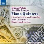 Quintetto con pianoforte in re maggiore cd musicale di Mario Pilati