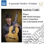 GUITAR RECITAL - LUAREATE SERIES: ANDRAS  cd musicale di Miscellanee