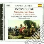 Sinfonia castellana, suite ingenua, evoc cd musicale di JosÉ martinez palaci