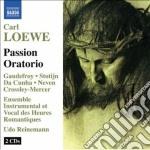 Oratorio della passione cd musicale di Carl Loewe