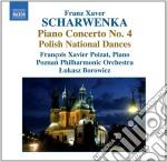 Concerto per pianoforte n.4, danze nazio cd musicale di Schwarenka franz xav