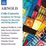 Concerto per violoncello op.136, sinfoni cd musicale di Malcolm Arnold