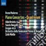 Concerti per pianoforte, concerti per 2 cd musicale di Bruno Maderna
