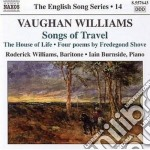Songs of travel, the house of life, lind cd musicale di Vaughan williams ral