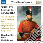 Sousa's greatest marches cd musicale di Sousa john philip