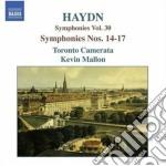 Sinfonia n.14, 15, 16, 17 cd musicale di Haydn franz joseph