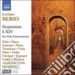 SEQUENZE I-XIV (INTEGRALE BOX 3 CD) cd musicale di Luciano Berio