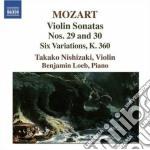 Sonata per violino n.29 k 402, n.30 k 40 cd musicale di Wolfgang Amadeus Mozart