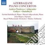 Azerbaijani piano concertos cd musicale di Miscellanee