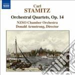 Quartetti per orchestra op.14 (nn.1, 2, cd musicale di Carl Stamitz