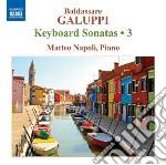 Sonate per tastiera (integrale), vol.3 cd musicale di Baldassarre Galuppi
