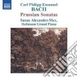 Bach Carl Philipp Emanuel - Sonate Prussiane Wq48 cd musicale di Bach carl philipp em