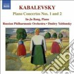 Concerto per pianoforte n.1 op.9, n.2 op cd musicale di Kabalevsky dmitry bo