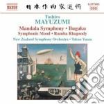 Mandala symphony, rumba rhapsody, bugaku cd musicale di Toshiro Mayuzumi