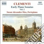 Clementi Muzio - Early Piano Sonatas, Vol.2 cd musicale di Muzio Clementi
