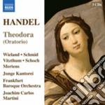 Theodora, hwv 68 (oratorio) cd musicale di Handel georg friedri
