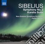 Sinfonia n.2, karelia (suite) cd musicale di Jean Sibelius