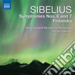 Sinfonie n.6, n.7 cd musicale di Jean Sibelius
