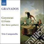 Goyescas, el pelele (arrangiamenti per 3 cd musicale di Enrique Granados
