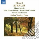 Opere per pianoforte cd musicale di Richard Strauss
