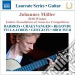 Laureate Series - Johannes Moller: Guitar Recital cd musicale di Miscellanee