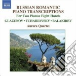 Arrangements for 2 pianos 8 hands cd musicale di Ciaikovski pyotr il'