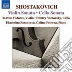 Sonata per violoncello op.40, sonata per cd musicale di Dmitri Sciostakovic