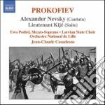 Alexander nevsky op.78, luogotenente kij cd musicale di Sergei Prokofiev