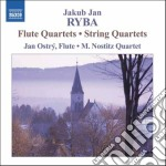 Quartetto con flauto in do, in fa; quart cd musicale di Ryba jakub jan