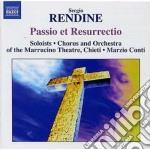 Passio domini nostri jesu christi, resur cd musicale di Sergio Rendine