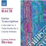 Guitar transcriptions cd musicale di Johann Sebastian Bach