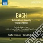 Trascrizioni orchestrali di respighi e e cd musicale di Johann Sebastian Bach