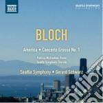 America, concerto grosso n.1 cd musicale di Ernest Bloch
