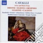 Arie e duetti cd musicale di Francesco Cavalli
