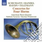 Concerti per 4 corni cd musicale